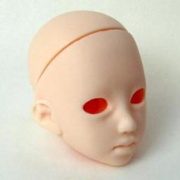 Голова Харука, белый тон.