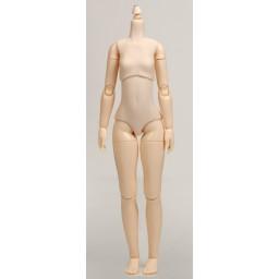Девушка Обитсу 24 см, грудь маленькая, белый тон.