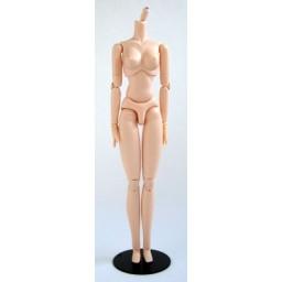 Женское тело 27 см, жесткое, белый тон с магнитами