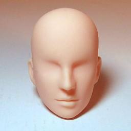 Голова мужская, модель 2, натуральный тон