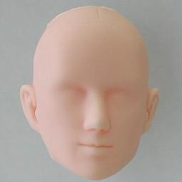Голова мужская, модель3, натуральный тон
