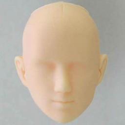 Голова мужская, модель 3, белый тон