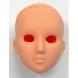 Голова девушки, натуральный тон, модель 6.