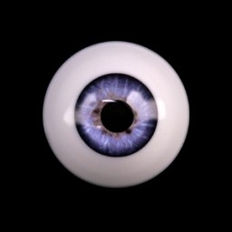 Глаза фиалковые, полусфера 10мм