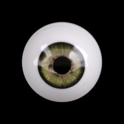 Глаза хаки, полусфера 12 мм