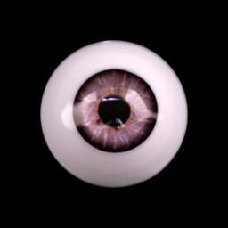 Глаза светло-серые, полусфера 10мм.