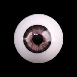 глаза темно-серые, полусфера 10мм.