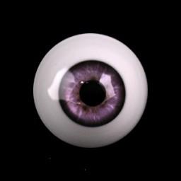 глаза фиолетовые, полусфера 10мм.