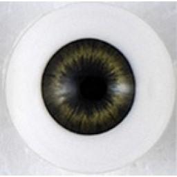 Глаза полусфера  , темно-зеленые 6мм