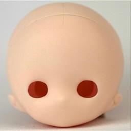 Голова Хикари, белый тон