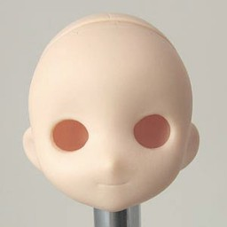 Голова Маффин, белый тон.