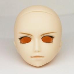 Голова Гензель с росписью, тип А, белый тон
