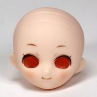 Голова Маленькая Принцесса, белый тон, с росписью тип B