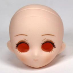 Голова Маленькая Принцесса, белый тон, с росписью тип С