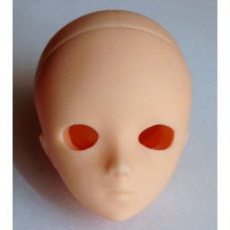 Голова Аки, натуральный тон.