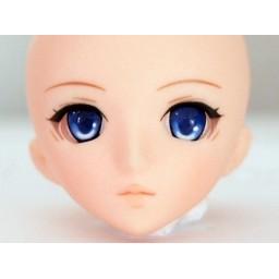 Аниме глазки 10 мм, синие