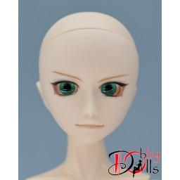 Глазки акриловые, малахитовый зеленый 8 мм
