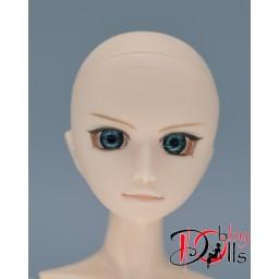 Глазки акриловые, серо-бирюзовые 8 мм