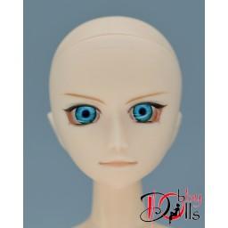 Глазки акриловые, ледяная бирюза 8 мм