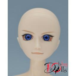 Глазки акриловые, ярко-синие 8 мм