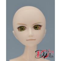 Глазки акриловые, темно-оливковый 8 мм