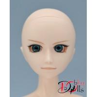 Глазки акриловые, темно-бирюзовые 8 мм