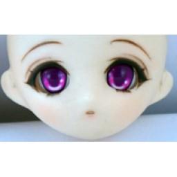 Аниме глазки 12 мм, фиолетовые.