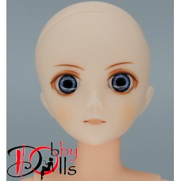 Глазки акриловые, серо-голубые 8 мм