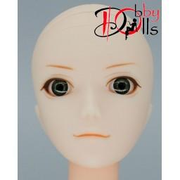 Глазки акриловые, тёмно-зеленые 6 мм