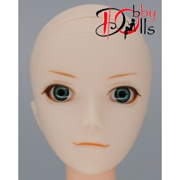Глазки акриловые, темно-бирюзовые 6 мм