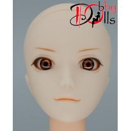 Глазки акриловые, карие 6 мм