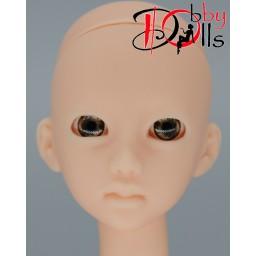 Глазки акриловые, серо-бежевые 7 мм