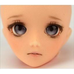 """Глазки """"конфетки"""", серые, полусферы 8 мм"""