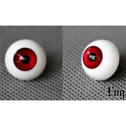 Глаза акриловые для Обитсу, полусфера, алые 12 мм