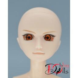 Глазки акриловые, янтарные 8 мм