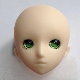 """Аниме глазки тип """"А"""", зеленые, 12мм"""