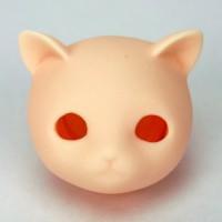 Головка Нэко  белый тон , модель с открытыми глазками.