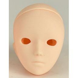 Голова Мироку, белый тон