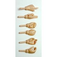 Набор дополнительных ручек для женских тел 27 см, белый.