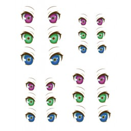 Наклейки глазки, модель 29