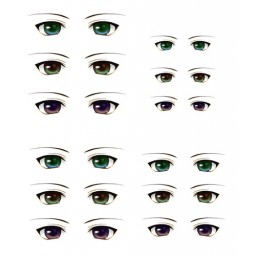 Наклейки глазки, модель 2