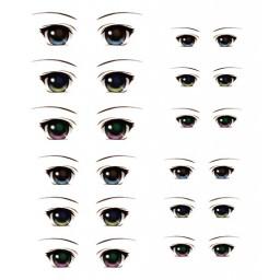 Наклейки глазки, модель 4