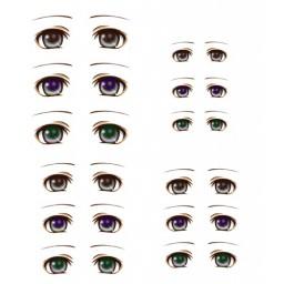 Наклейки глазки, модель 5