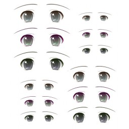 Наклейки глазки, модель 8