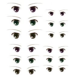 Наклейки глазки, модель 11