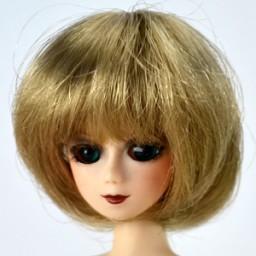 Парик объемное каре, натуральный блондин 3,5 INCH