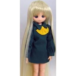 Парик  с челкой длинный, медовый блондин, 4,5 inch