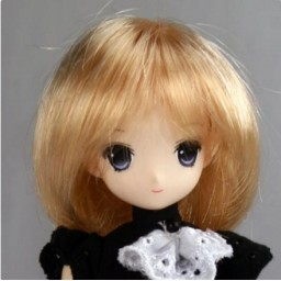 Парик, стрижка средней длины 4,5 inch светлый блондин.