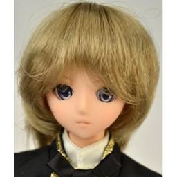 Парик многослойная стрижка, натуральный блондин 4,5 inch