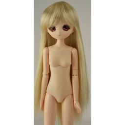 Парик с челкой, средней длины, 5 inch, медовый блондин